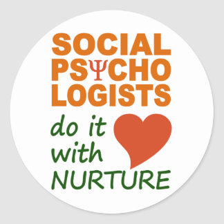 Social Psychologists stickers