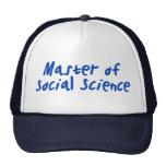 Social Science Mesh Hats