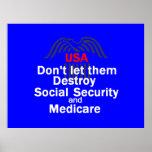 Social Security POSTER Print