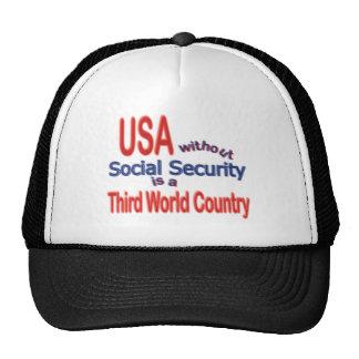 Social Security USA Cap