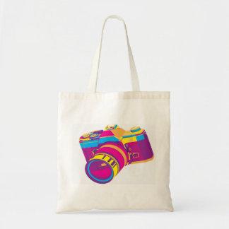 SOCIAL SHUTTERBUG tote Budget Tote Bag