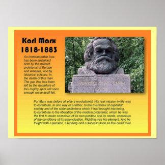 Social Studies, History, Karl Marx Poster