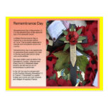 Social studies, History, Remembrance Day Postcards