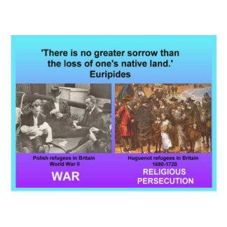 Social Studies, Refugees Post Cards