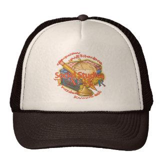Social Studies Teacher Motto Mesh Hat