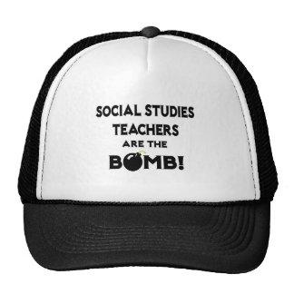 Social Studies Teachers Are The Bomb! Trucker Hat