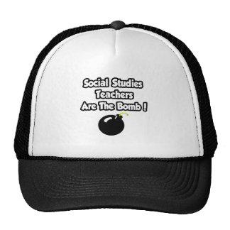 Social Studies Teachers Are The Bomb! Trucker Hats