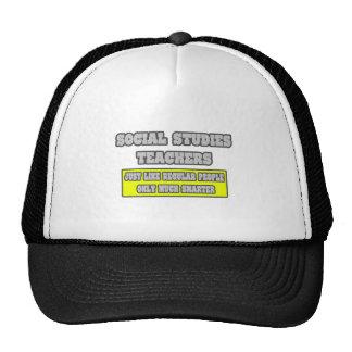 Social Studies Teachers...Much Smarter Mesh Hats