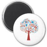Social Tree shape Magnets