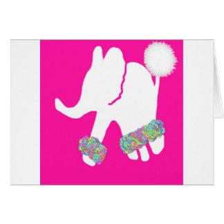 Social white elephant birthday card