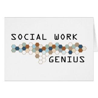 Social Work Genius Card