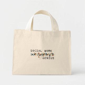 Social Work Genius Mini Tote Bag