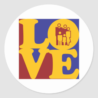 Social Work Love Stickers
