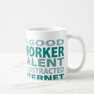 Social Worker 3% Talent Basic White Mug