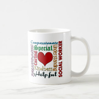 Social Worker Basic White Mug