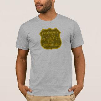 Social Worker Drinking League T-Shirt