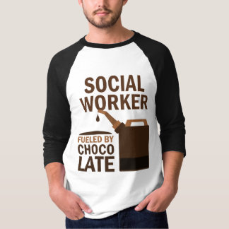 Social Worker (Funny) Chocolate T-Shirt