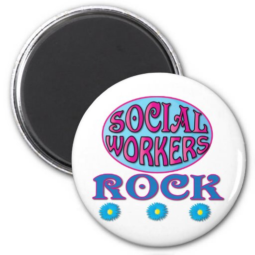 Social Worker Gifts Fridge Magnets