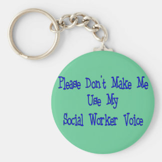 Social Worker Gifts Key Ring