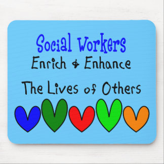 Social Worker Gifts Mouse Mat