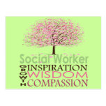 Social Worker Gifts Postcards