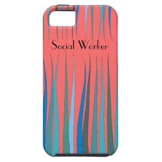 "Social Worker iPhone 5 Case ""Magical Garden"""