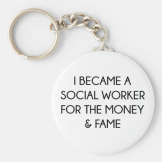 Social Worker Key Ring
