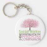 Social Worker Keychain