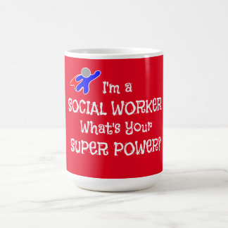 Social Worker Superhero Coffee Mug