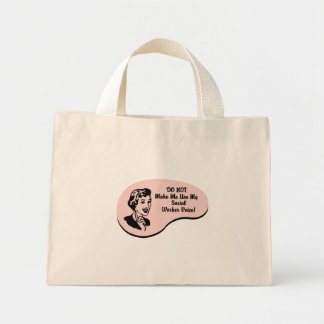 Social Worker Voice Mini Tote Bag