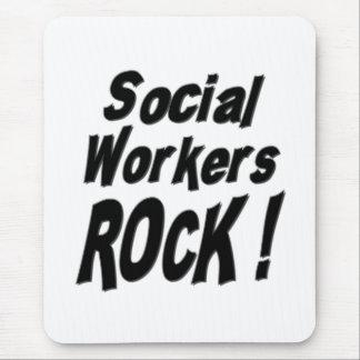Social Workers Rock! Mousepad