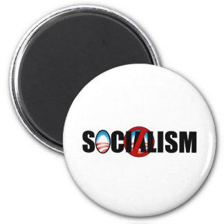 Socialism Buster 6 Cm Round Magnet
