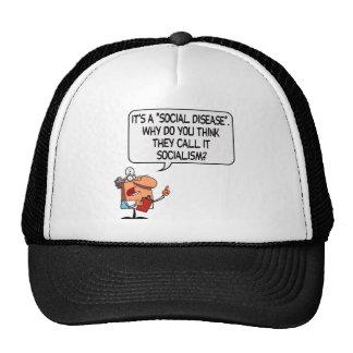 Socialism is a Social Disease Trucker Hat