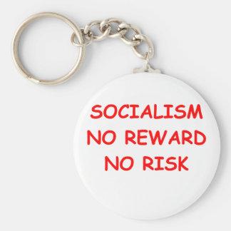 socialism key chain