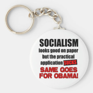 Socialism - Looks Good On Paper Key Chains