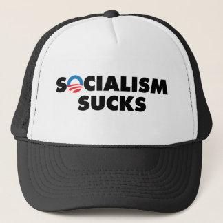 Socialism Sucks Trucker Hat