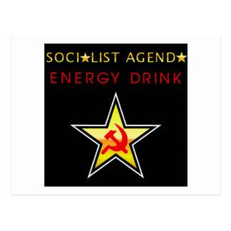 Socialist Agenda Postcard