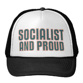 Socialist and Proud Hats