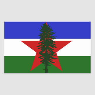 Socialist Cascadia Flag Sticker