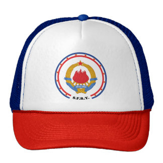 Socialist Federal Republic of Yugoslavia Emblem Cap