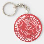 Socialist Key Chain
