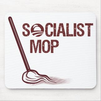 Socialist Mop Mouse Pad