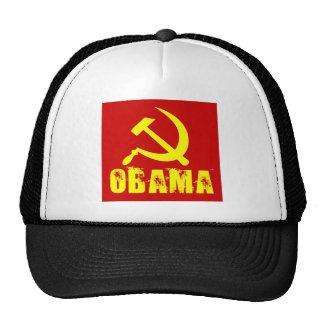 socialist obama women's dark shirt cap
