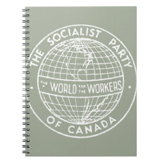 Socialist Party of Canada grey notebook