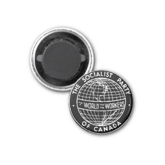 Socialist Party of Canada small black magnet