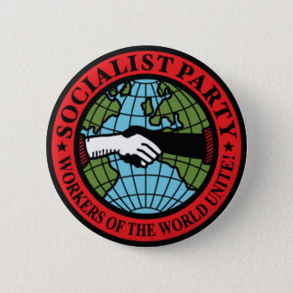 SOCIALIST PARTY USA 6 CM ROUND BADGE