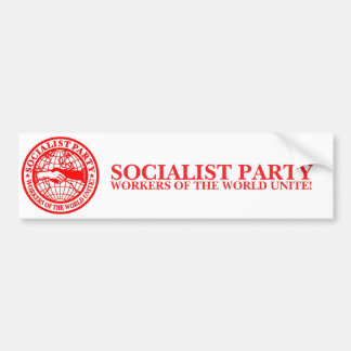 Socialist Party USA Bumper Sticker