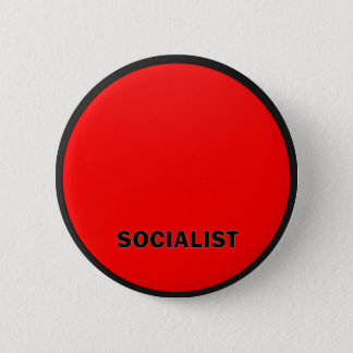 Socialist Roundel quality Flag 6 Cm Round Badge