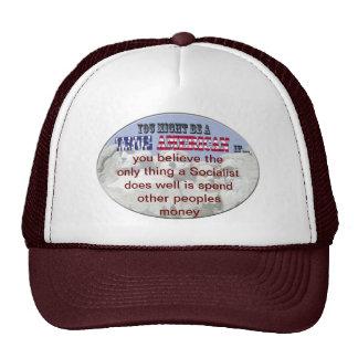 socialist spend others peoples money trucker hat