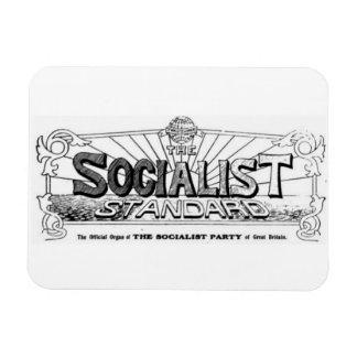 Socialist Standard 1910s logo magnet